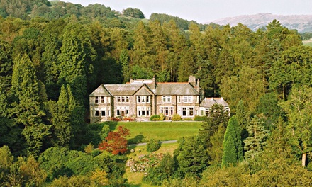Windermere: 1 or 2Night 4* Stay with Cream Tea with an Option for Lake Cruise at 4* Merewood Country House Hotel