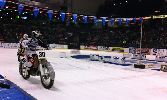 X-treme International Ice Racing - The XFINITY Arena at Everett: $13 to See X-Treme International Ice Racing at the XFINITY Arena at Everett on January 24 at 7:30 p.m. ($26.50 Value)