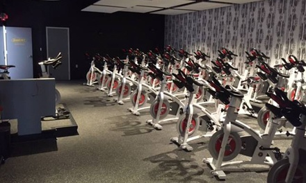 Five Fitness Classes or One Month of Unlimited Indoor Cycling at Sweat Glen Rock (Up to 54% Off)