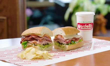 Food and Drinks at Nardelli's Grinder Shoppe Milford (Up to 30% Off). Four Options Available.
