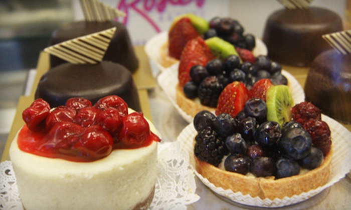Rosie's Bakery - Multiple Locations: $15 for $30 Worth of Cakes, Baked Goods, and Breakfast Sandwiches at Rosie's Bakery. Three Locations Available.