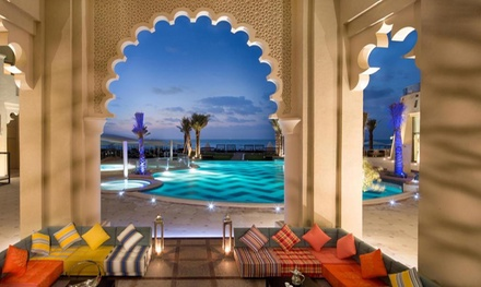 Ajman: 1 or 2 Nights for Two with Half Board or Full Board at 5* Bahi Ajman Palace Hotel