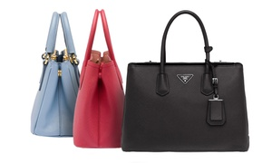 Prada Saffiano Leather Tote Bags