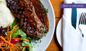 Hamilton Street Grill: Three-Course Chef's Tasting Dinner for Two or Four at Hamilton Street Grill (45% Off)