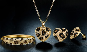 Barzel Jaguar Jewelry Collection Made with Swarovski Elements