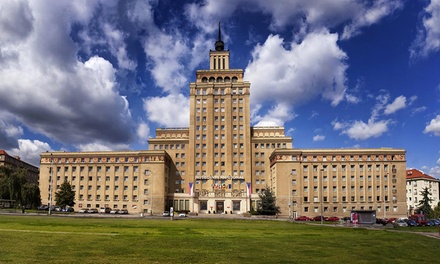 Praga 4*: camera Superior doppia o matrimoniale con colazione a 51€euro