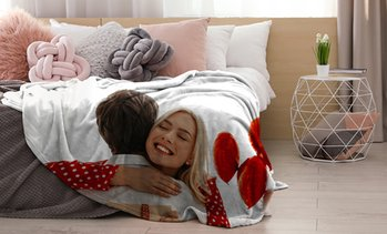 Personalised Fleece Photo Blanket