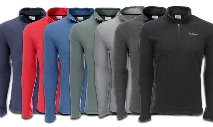 Columbia Men's Quarter-Zip Lightweight Fleece