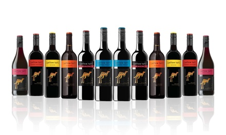 $86 for 12 Bottles of Yellow Tail Mixed Red Wine (Don't Pay $139)