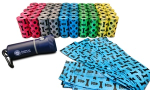 AKC Pet-Waste Bags (1,000-Count) with LED Flashlight Dispenser