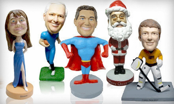 AllBobbleheads.com Custom Bobble-Head - Kingston / Belleville: $69 for an AllBobbleheads.com Custom Bobble-Head Package. Shipping Included ($130 Total Value).