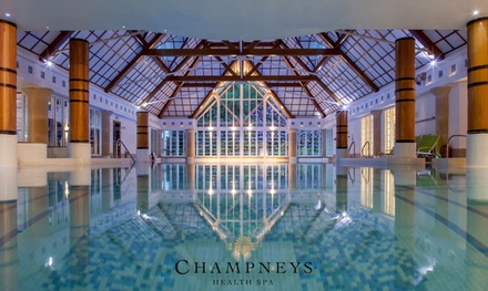 Spa Day with Healthy Lunch and Choice of Treatment at Champneys at Forest Mere