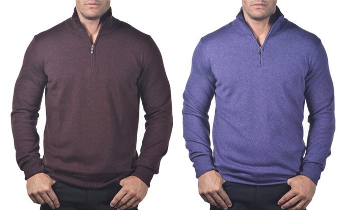 Enzo mantovani men 39 s sweaters groupon goods for Enzo mantovani