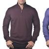 Enzo Mantovani Men's Cashmere and Silk 1/4-Zip Sweaters