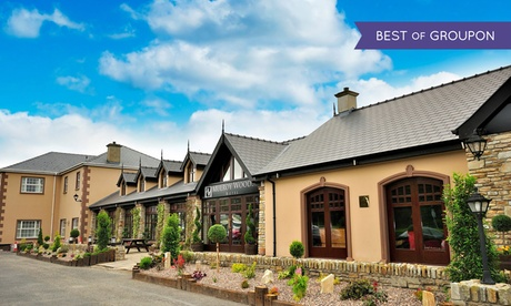 Co. Donegal: 1 or 2 Nights for Two with Prosecco and Late Check-Out at Mulroy Woods Hotel