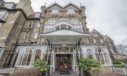 Harrogate: 12 Nights for Two with Breakfast, Wine, Late CheckOut, Free WiFi and Optional Dinner at The Cairn Hotel