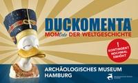 """2 Tickets für die Ausstellung """"DUCKOMENTA– MomEnte der Weltgeschichte"""" im Archäologischen Museum Hamburg (50% sparen)"""