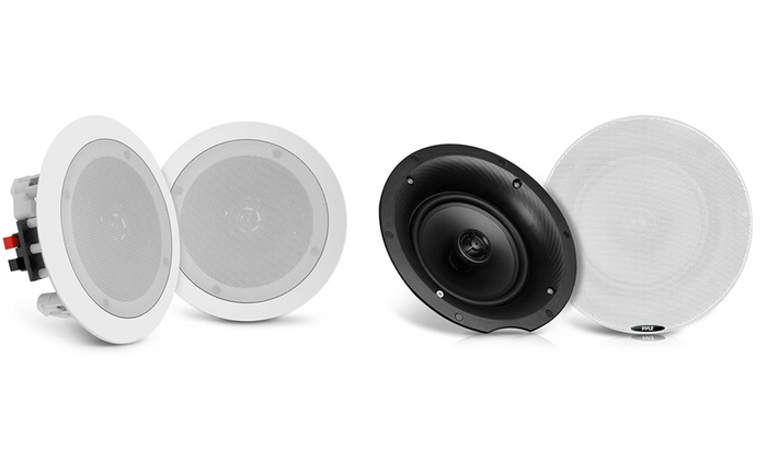 Up To 69 Off On Ceiling Wall Bluetooth Speakers