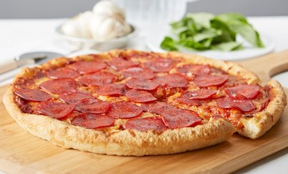 image for Pizza, Calzones, and Pasta at Pizza Factory (Up to 45% Off). Two Options Available.