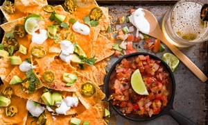 KEG & Filly: Nachos or Buffalo Wing Basket with a Castle Light Draught Each from R129 for Two at Keg & Filly (Up to 48% Off)