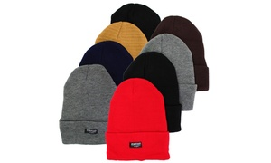 Thermal-Insulated Beanie Hats for Men and Women (4-Pack)