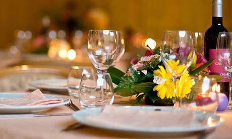 Menu gourmet alla carta con dolce e calice di vino o Prosecco per 2 persone alla Bulesca (sconto fino a 3