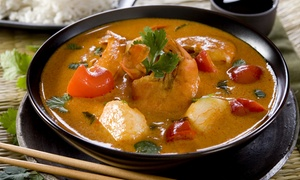 Thai Café: Two-Course Thai Meal from R199 for Two at Thai Café (Up to 41% Off)