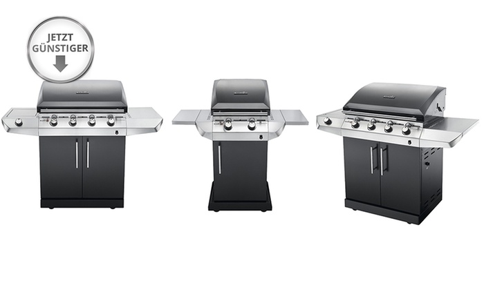 Billig Charbroil Gasgrill : Charbroil gasgrill blackline performance groupon goods