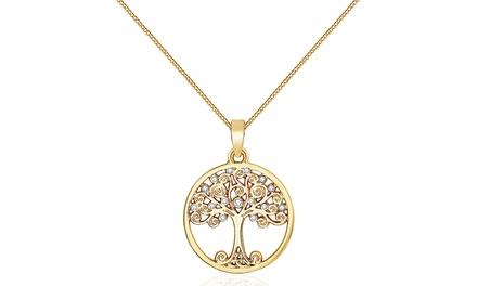 14e94618c Shopping Deals UK | Mestige Tree of Life Necklace or Floating Charm ...