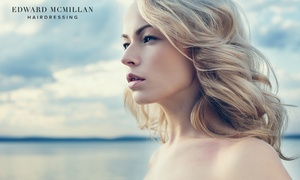 Edward McMillan Hairdressing: $39 for a Style Cut and Blow-Dry, or $59 to Add a Full Colour at Edward McMillan Hairdressing (Up to $210 Value)