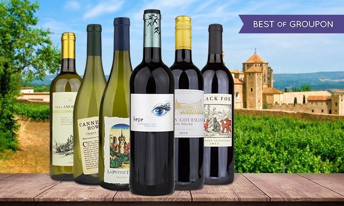 Heartwood & Oak - Central San Diego: $24.99 for Six Bottles of Premium, Award-Winning Wine from Heartwood & Oak (76% Off)