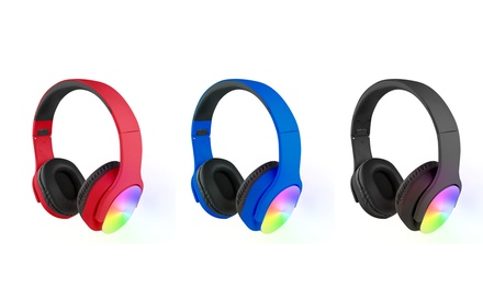 Vivitar Light-Up Wired Stereo Headphones
