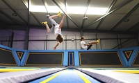 One-Hour Trampoline Jumping Session for Up to Four at Oxygen Freejumping (Up to 45% Off)