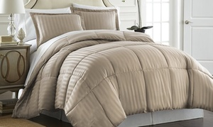 Hotel 5th Ave Reversible Down-Alternative Comforter Set (3-Piece)