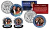 Donald and Melania Presidential Official US 2016 JFK Coin Sets with Display Stands (2-Pack): Donald and Melania Presidential Official US 2016 JFK Coin Sets with Display Stands (2-Pack)