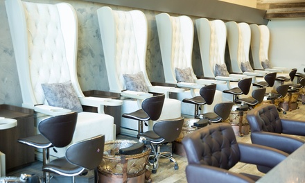 Classic Gel Manicure and Classic Pedicure at Nail Garden Encino (Up to 35% Off); Three Options Available