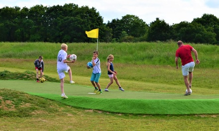 Nine Holes of Footgolf for Up to Four at Wokingham Family Golf