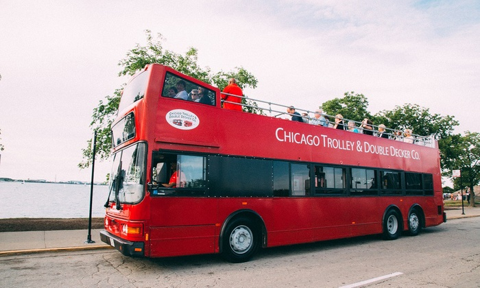 chicago trolley double decker co up to 21 off chicago il