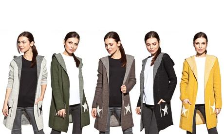 Cárdigan para mujer modelo estrella disponible en varios colores por 35,99 €