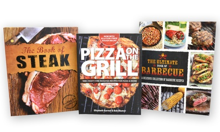 Ultimate Cookbook Set for BBQ Lovers (3-Pack)