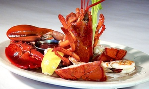 Fishermans Catch: Seafood, Steak, and Pasta at Fisherman's Catch (Up to 40% Off). Two Options Available.