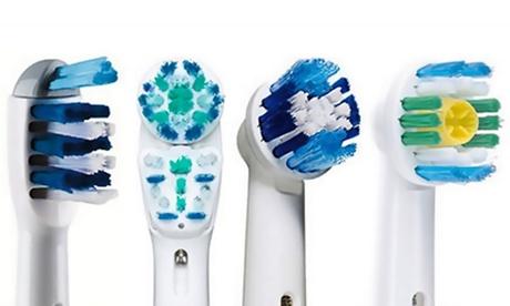 Têtes brossettes compatibles pour brosse à dents electrique Oral-B