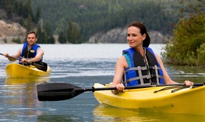 PaddleXperience: 90- or 150-Minute Canoeing or Kayaking Experience with Optional All-Day Session at PaddleXperience (Up to 48% Off)