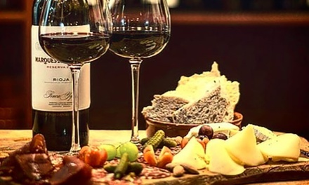 Sharing Platter with Wine for Two or Four at Pall Mall Fine Wine (Up to 50% Off) (London)