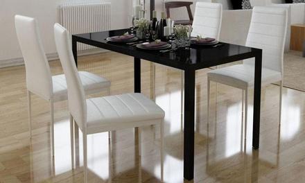 Ensemble table et chaises pour salle à manger