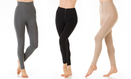 3-Pack of Ladies' Fleece-Lined Leggings