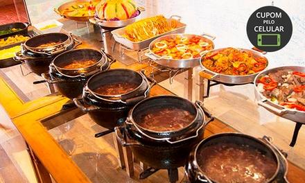 Buffet de feijoada completo para 1 ou 2 pessoas no Chão de Estrelas Pizzaria e Restaurante – Asa Norte