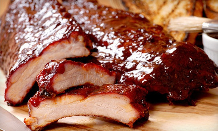 Elmer's BBQ - Brookside: Three-Meat Dinner for One or Two at Elmer's BBQ (53% Off)