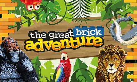 The Great Brick Adventure on 25 27 August at Exhibition Centre Liverpool
