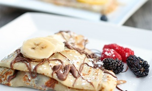 Chez Machin: Crepes and French Cuisine for Dinner or Lunch at Chez Machin (Up to 44% Off)